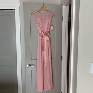 After Six Rose Bridesmaid Dress - Size 6